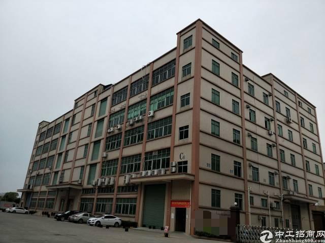 位于光明原房东大型工业园区楼上带精装修厂房3000平