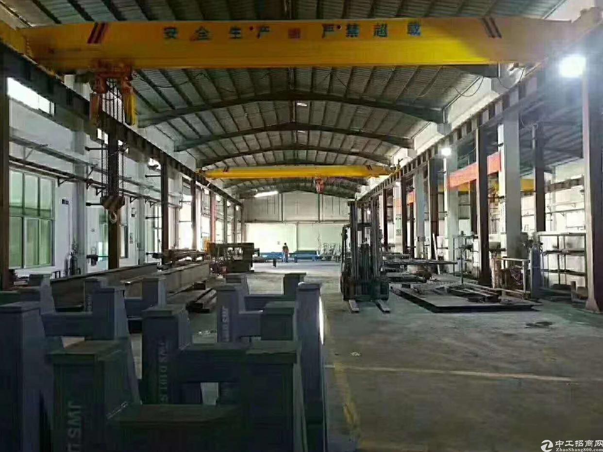松岗2200平钢结构厂房便宜招租