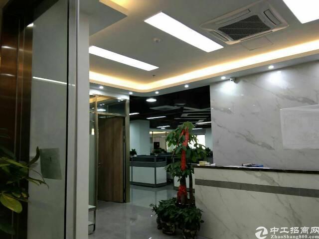 西乡航城大道骏翔u8超靓写字楼100平方起租租金56元