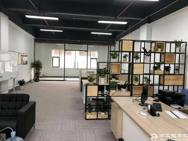 出租)宝安中心区广兴源创意园精装办公室可申请政府补贴