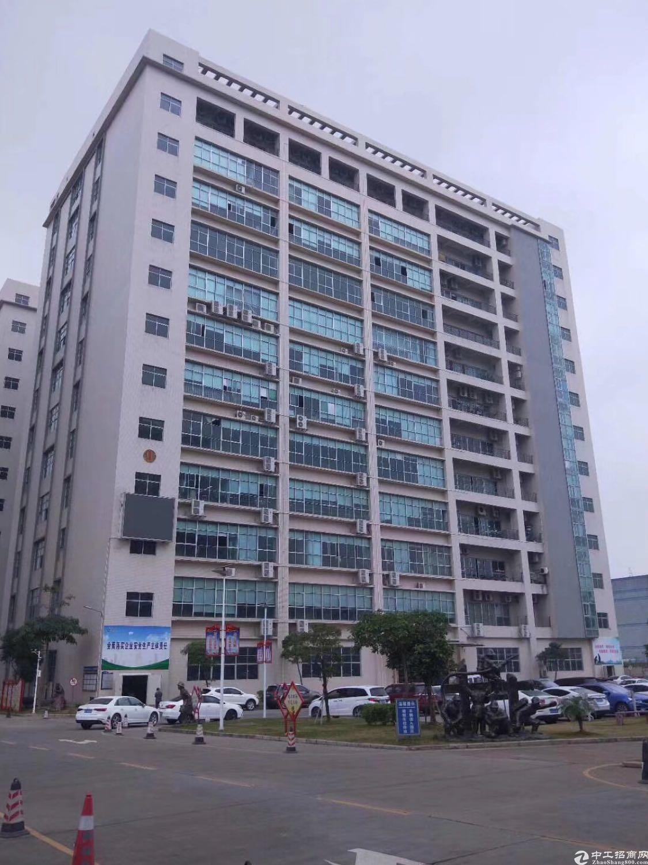沙井高新产业园区整层2500平出租,有宿舍