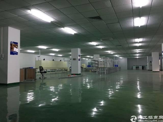 平湖现成装修厂房出租,2500平方带无尘车间-图5