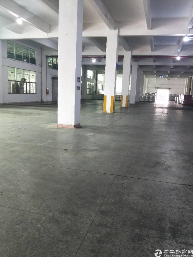 横岗四联标准厂房单层1400平实际面积出租