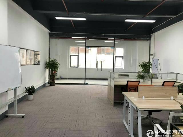 西乡固戍二路超靓写字楼50平方起租租金50元