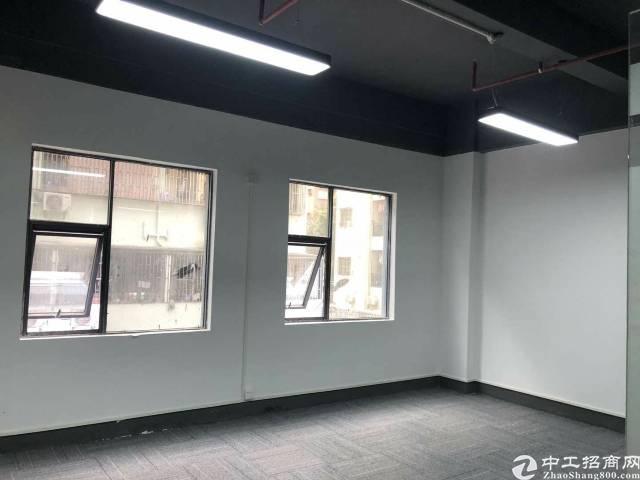 (出租)平价直租宝安大道地铁边上全新写字楼100平方