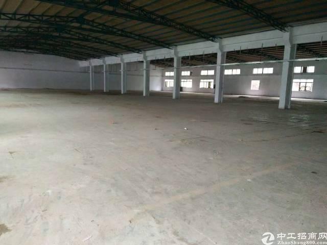 龙岗龙东原房东钢构厂房2380平米实际面积出租