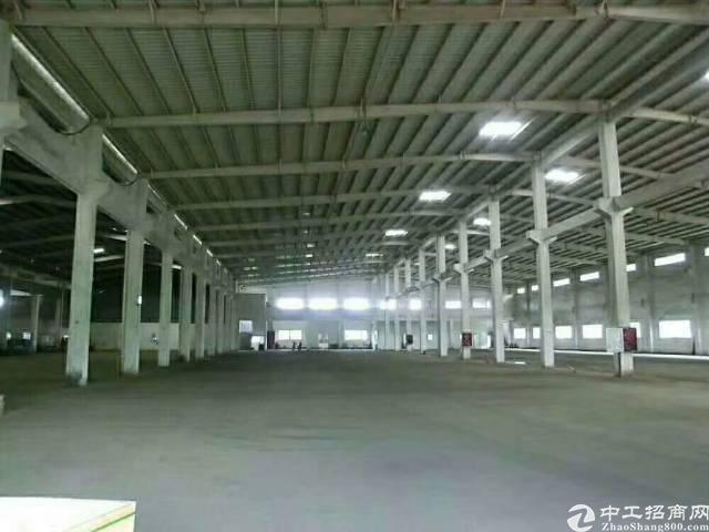 坪地新出滴水8米独院钢构厂房!  厂房8000平米,办公楼