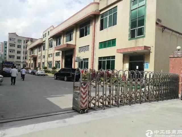 沙井2层独院8200平米红本厂房出租