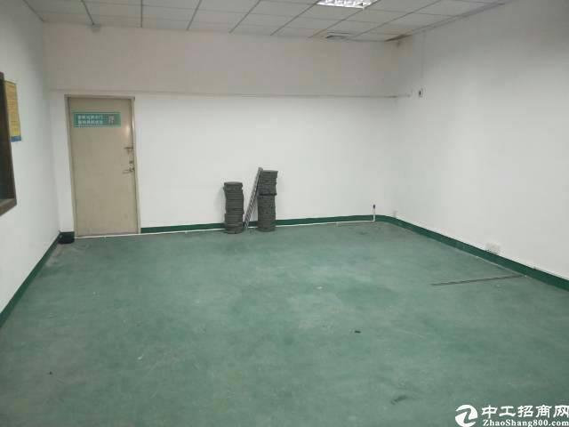 福永楼上580平厂房年底清盘看上就租