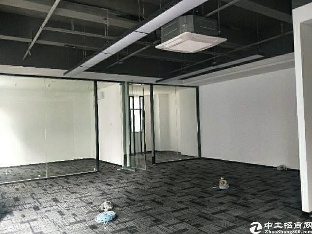 出租)出租西乡艺峦大厦精装小型办公室