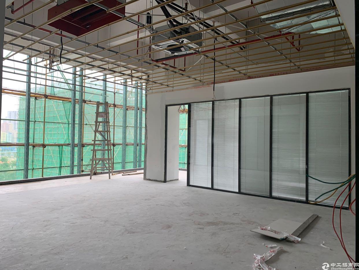 清湖新出精装修办公室55平起租