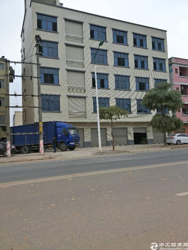 企石镇原房东独院标准厂房1-5层2000平方租12元