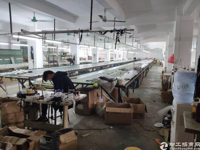 惠城区带装修厂房出租,带流水线,水电齐全