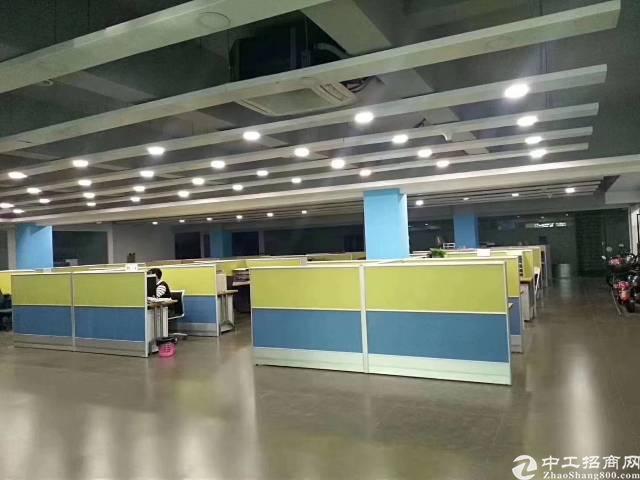 沙井后亭地铁口独门独院厂房12500平带装修办公室,卸货平台