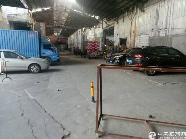 布吉南岭布沙路大型工业区一楼空出钢构1450平