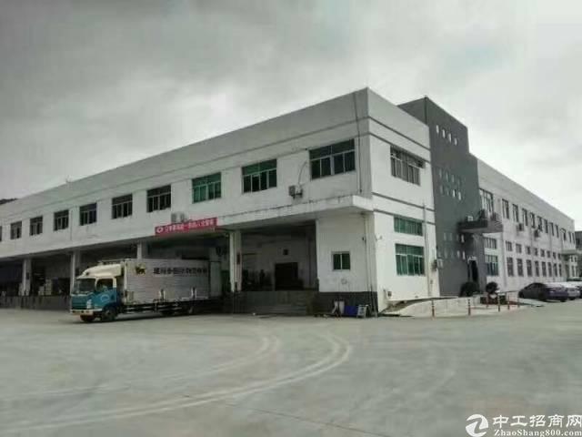 凤岗广源物流边带卸货平台一二楼仓库