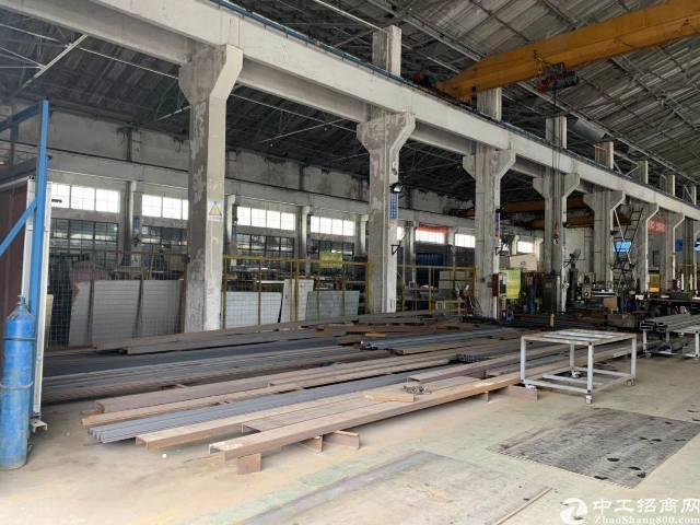 横岗地铁站附近新出一楼2500平方单一层12米钢构,带行车