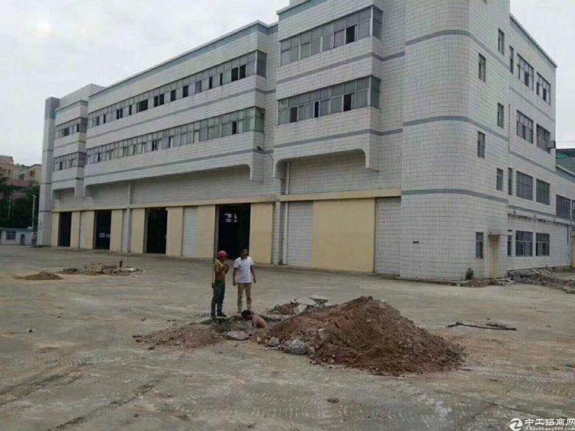 福永镇宝安大道地铁口大型钢构厂房2300平方出租