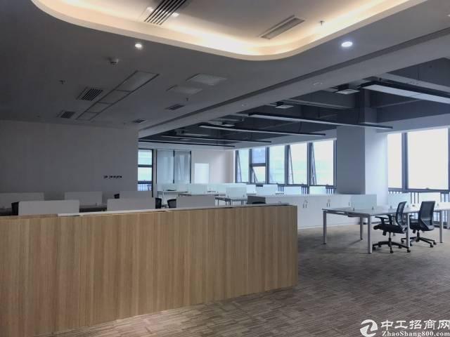 西乡机场南路文创双补产业园精装655平写字楼出租