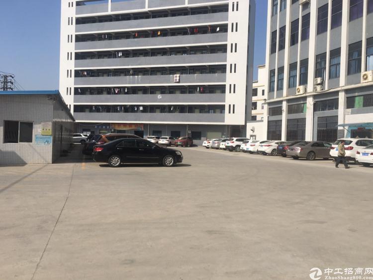 光明新区南光龙大双高速出口新出楼上带办公室装修厂房无转让费