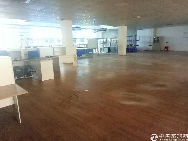 沙井后亭新出楼上680平方厂房招租