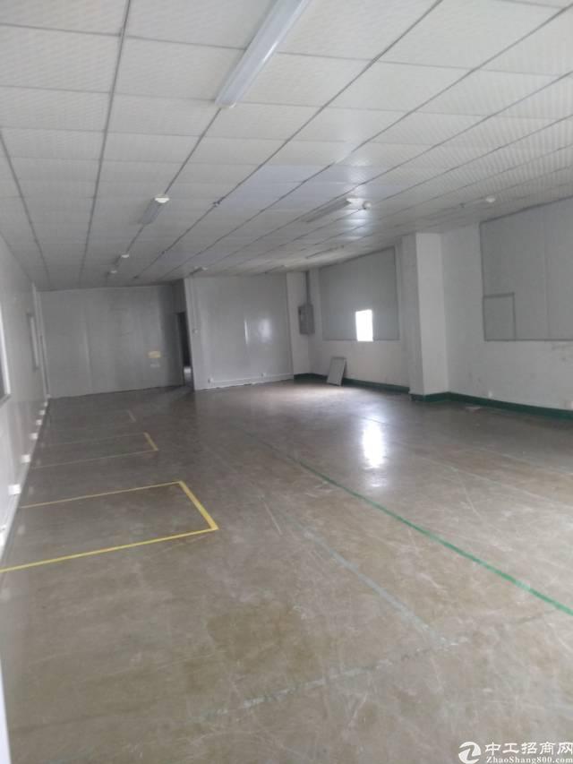 坪山碧岭汤坑红本厂房3楼1200平现成装修