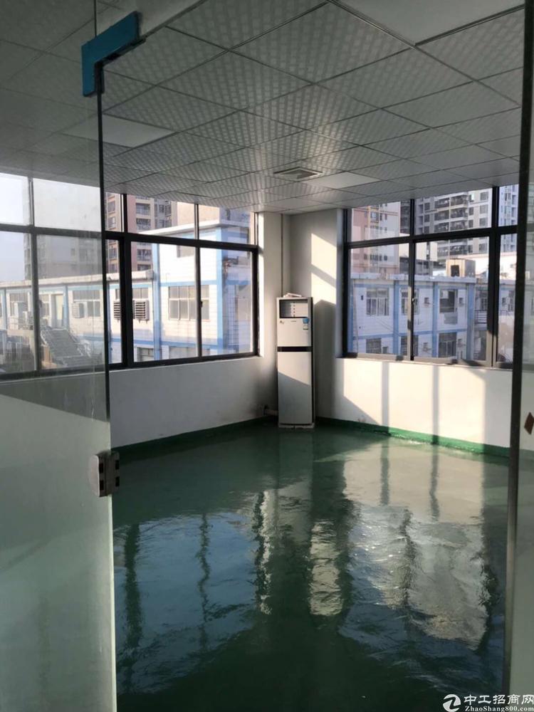 福永桥头地铁站原房东精装修厂房350平招租
