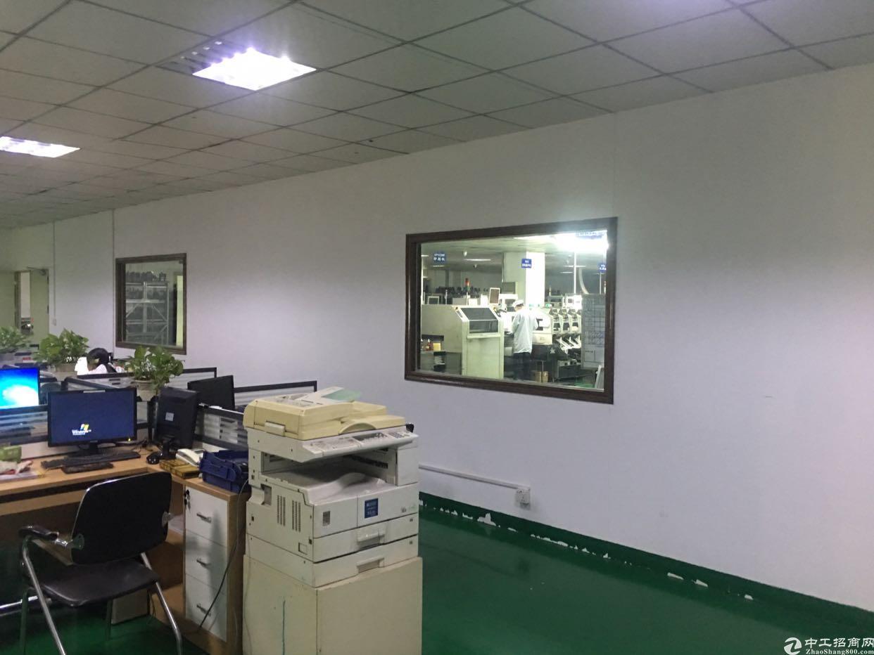 福永塘尾楼上2300平米精装修厂房出租