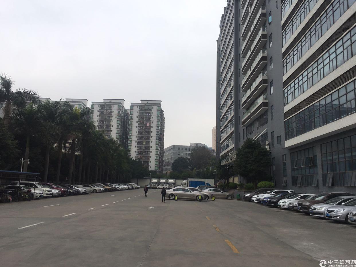 福永凤凰楼上1601平米带装修厂房出租