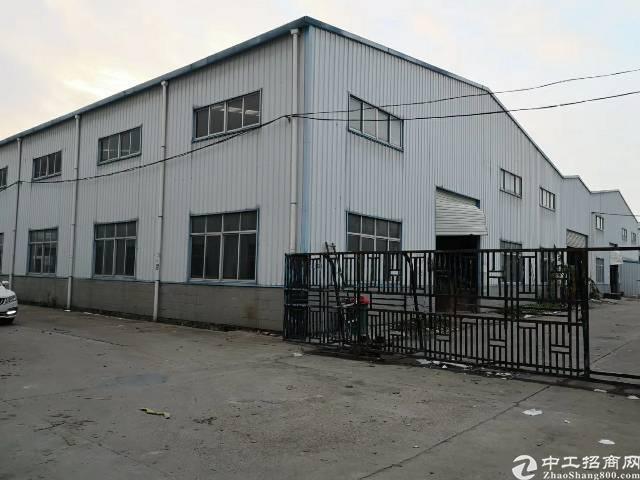 横岗钢构厂房2500平带现成办公室760平
