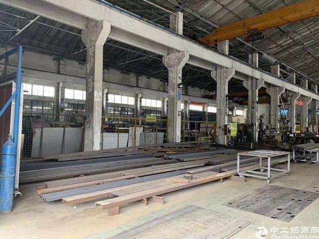 横岗钢构2500平方(高12米.滴水9米二楼750平方办公