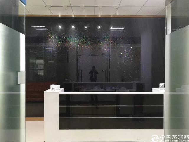龙华清湖地铁站空出带家私3+1办公室298平出租