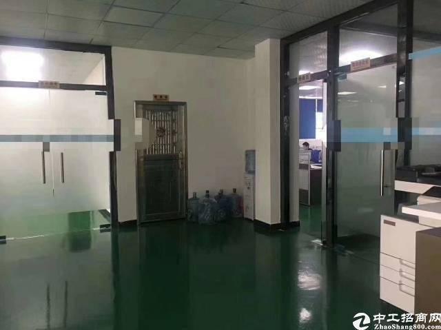 坂田上雪科技园新出标准一楼1300平方,高度5.2米带装修