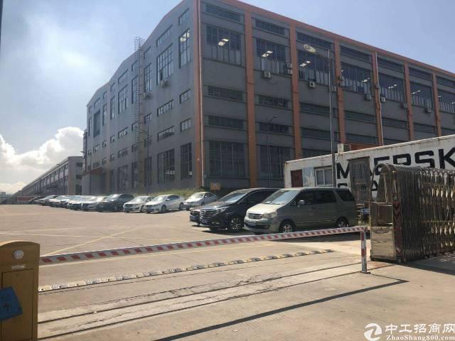 深圳龙岗独门独院钢构厂房招租