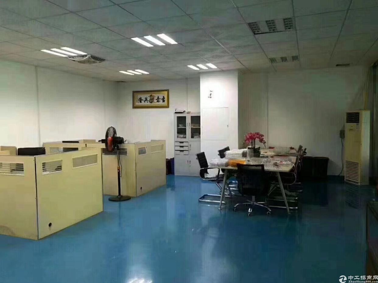 沙井沙三村二楼100平米精装修厂房出租