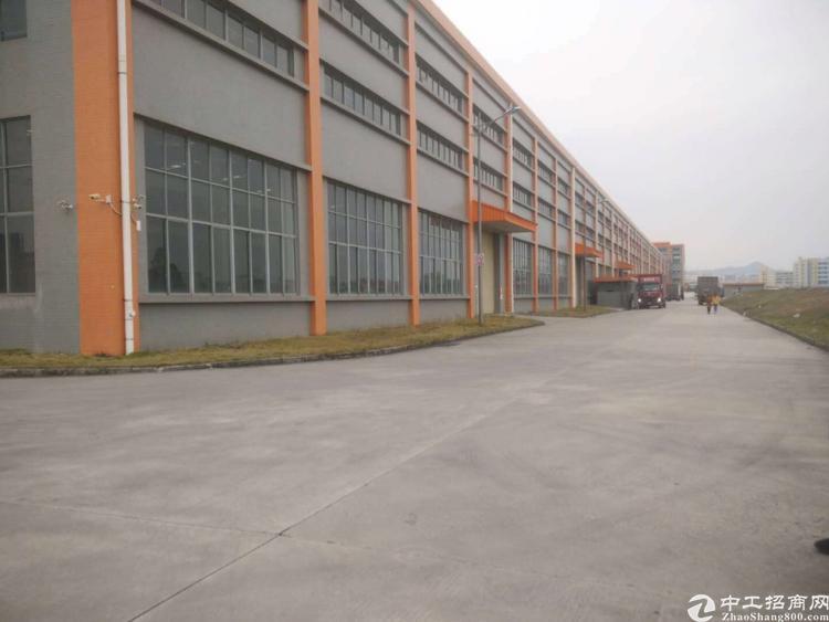 龙华原房东17米高带牛角59000平钢构厂房出租大小可分租