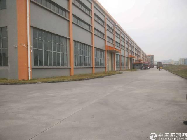 深圳坪山新出17米高钢结构厂房59000平,大小可分租