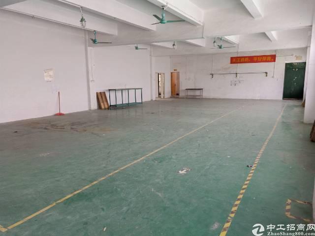 坪山独院楼上厂房770平带装修地坪漆,面积实在16块