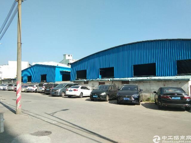 观澜梅观高速出口处新出独院钢构5300平,实际面积出租!