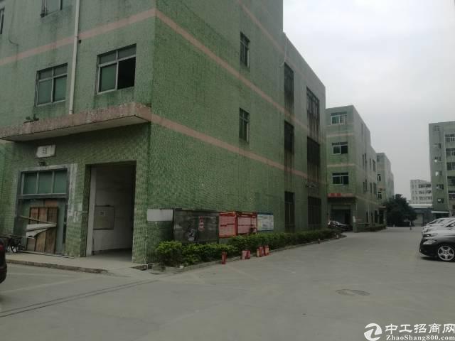 沙井新桥芙蓉工业区附近楼上整层1600平厂房出租