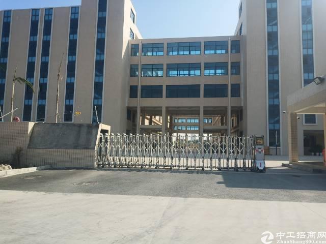 坪山大工业区独院红本厂房出租,带红本,卸货平台