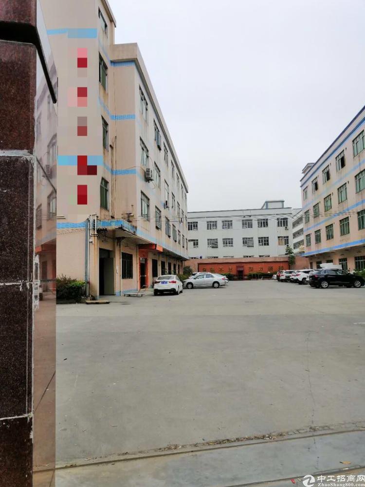 东莞茶山镇独院标准厂房空地超大