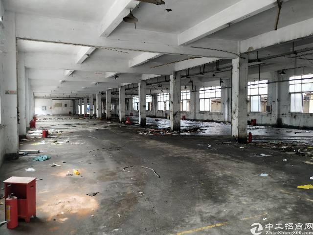 公明镇新出厂房1-2层5000平租金26
