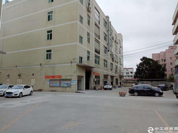 坪地高速出口旁楼上新出2、3、4楼厂房单层1500平米出租