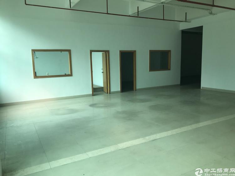 平湖华南城附近新出楼上370平标准厂房
