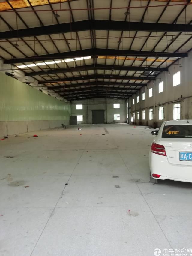 新圩原房东3000平滴水8米高钢构厂房出租