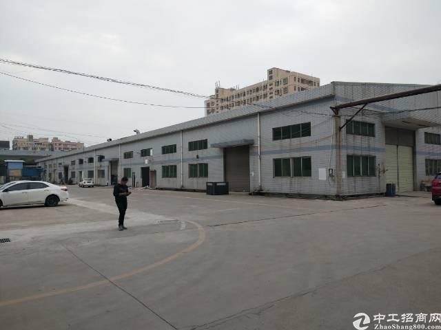 沙井新出一楼5000平米钢构厂房出租