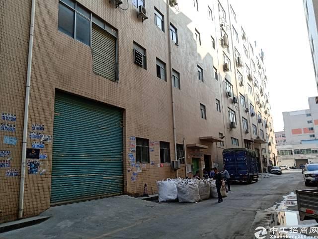 出租沙井西部电子城附近楼上整层3050平米带精装修厂房