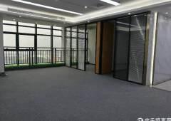 桃源居附近精装修写字楼98平米起带隔间出租
