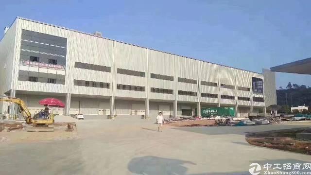 专业物流仓储园区出租约40000平米单层双边高台库
